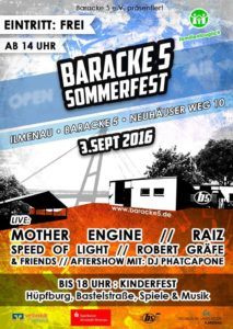 Baracke5 Sommerfest
